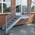 Stahltreppe 1